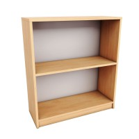 Image for 2 Shelf Open Bookcase Grey
