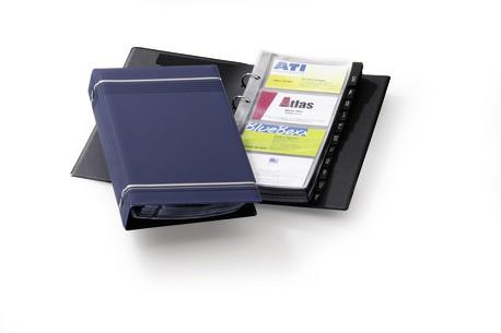 VISIFIX Business Card Album Dark Blue