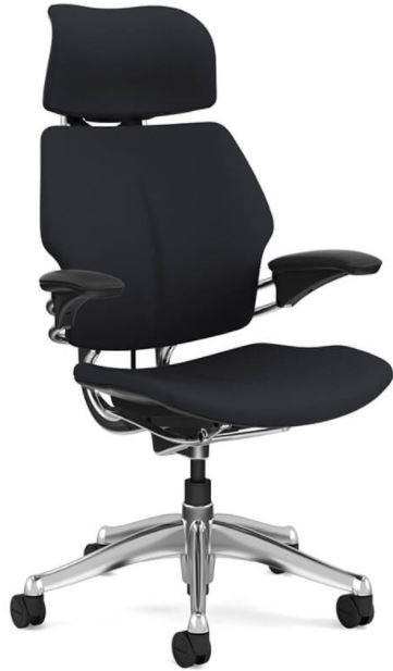 Freedom Chair Uph Black Leather