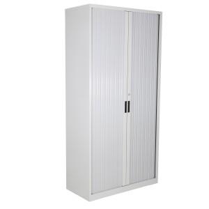 Tambour Cupboard Grey 2000hx1000wx463 *