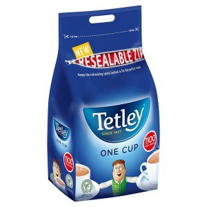 Tetley Catering One Cup Tea Bags Pk1100