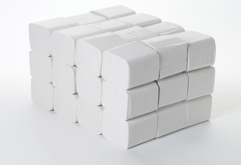 2 Ply White Recycled Bulk Pack