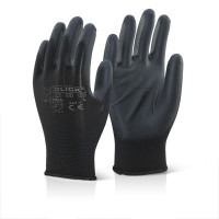 Image for PU Coated Glove Black XL