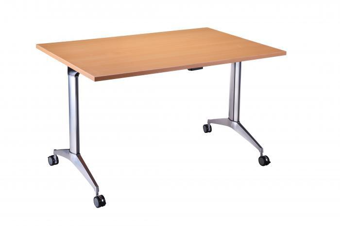 1200mm x 800mm Fliptop Table in Light Oak