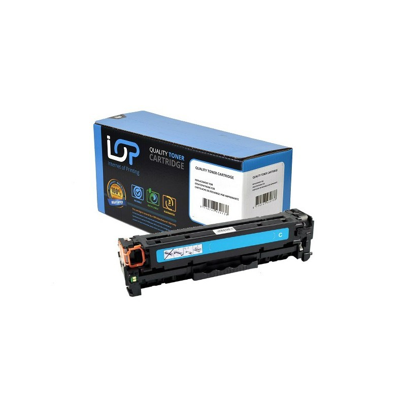Paperstation Remanufactured Toner Cartridge for use in HP Laserjet Pro 200 Color M 251 NW/-MFP M 276 NW 131A / CF211A / cyan 1800 pages