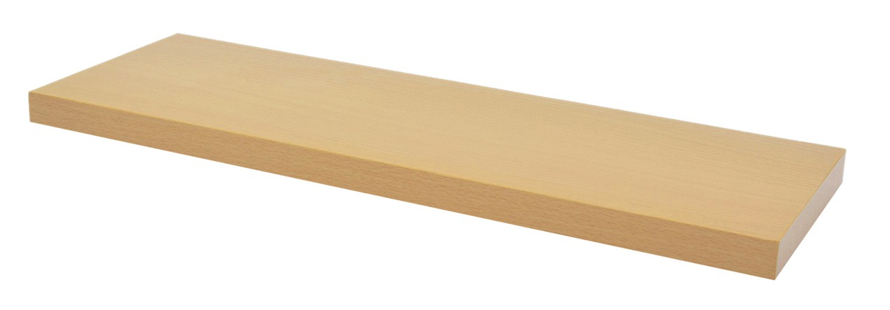25mm Wooden Shelf for TC12 & TC20 Light Oak (WxDxH) 858x500x25mm