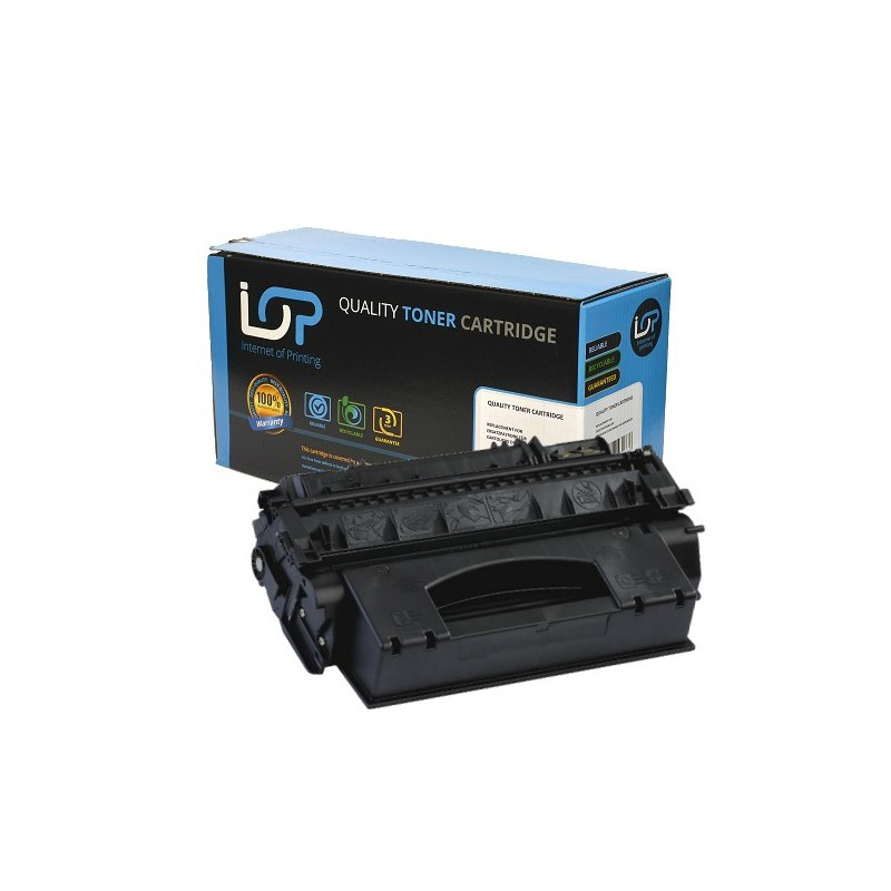 Paperstation Remanufactured Toner Cartridge for use in HP Laserjet P2055 05X / CE505X / Mono 6500 pages