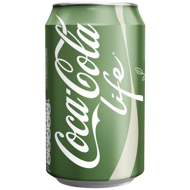 Coca Cola Life 330Ml Can Pk 24