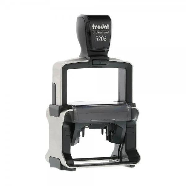 Trodat MCI Multi Colour Impression Professional 5206 Self Inking Custom Stamp. Imprint Area 53 x 30 mm - 8 lines maximum