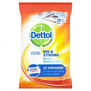 Image for IN STOCK  Dettol Surface Wipes (Pack 25 Wipes) - UPDATE