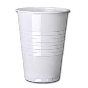 Tall Plastic 7oz Cups for Hot Drink Vending Machines (Pack 100)