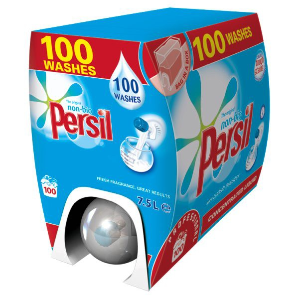 Persil Non Bio Liquigel Dispenser 100 Washes 7.5ltr