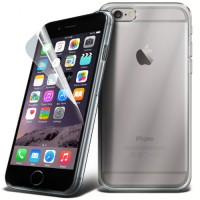 Image for APPLE IPHONE 6 4.7 TPU CLEAR GEL CASE COVER