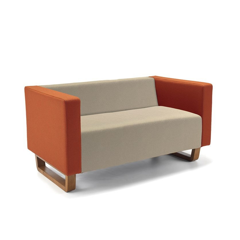 Cleo Two Seater Sofa 'Advantage Pewter' AD072