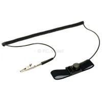 Image for Anti-Static NoShock ESD 6ft Wrist Strap Grounding Cable Kit