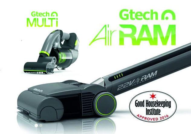 Gtech AirRam K9 - Gun Metal + Gtech Multi