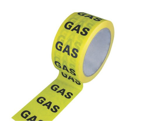 HAYES UK GAS IDENTIFICATION TAPE 33M X 50MM