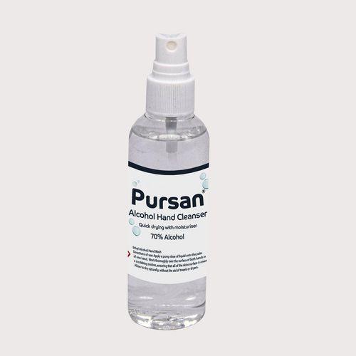 Pursan 70% Alcohol Hand Gel 100ml Pump Spray Bottle (Pack of 6)