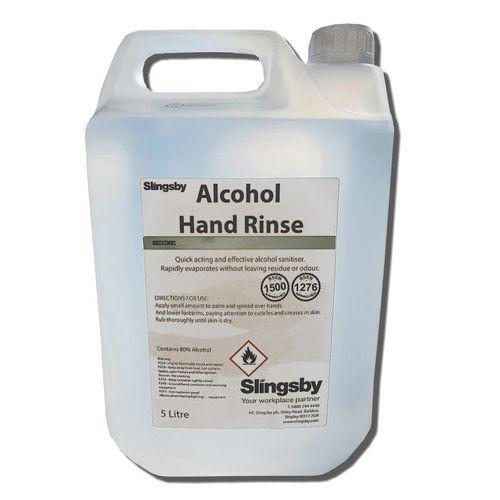 Alcohol Hand Rinse 80% 5 Ltr (UN1170) (Each)