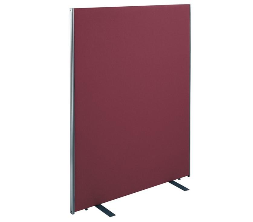 Floor standing fabric screen 1800mm high x 800mm wide