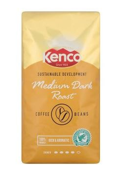 KENCO ARABICA VENDING COFFEE BEANS 1kg (8 PACKS) 755555 - 100413 (G3)