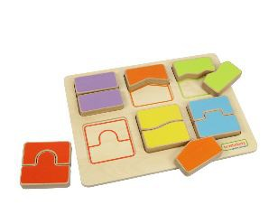 SHAPE MATCHIONG PUZZLE BOARD