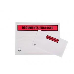 Packing List (A7) Polythene Document Enclosed Envelopes (1 x Pack of 1000 Envelopes) Ref A7DE