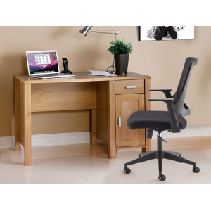 Image for Amazon workstation Oak with Drawer 1200 x 600