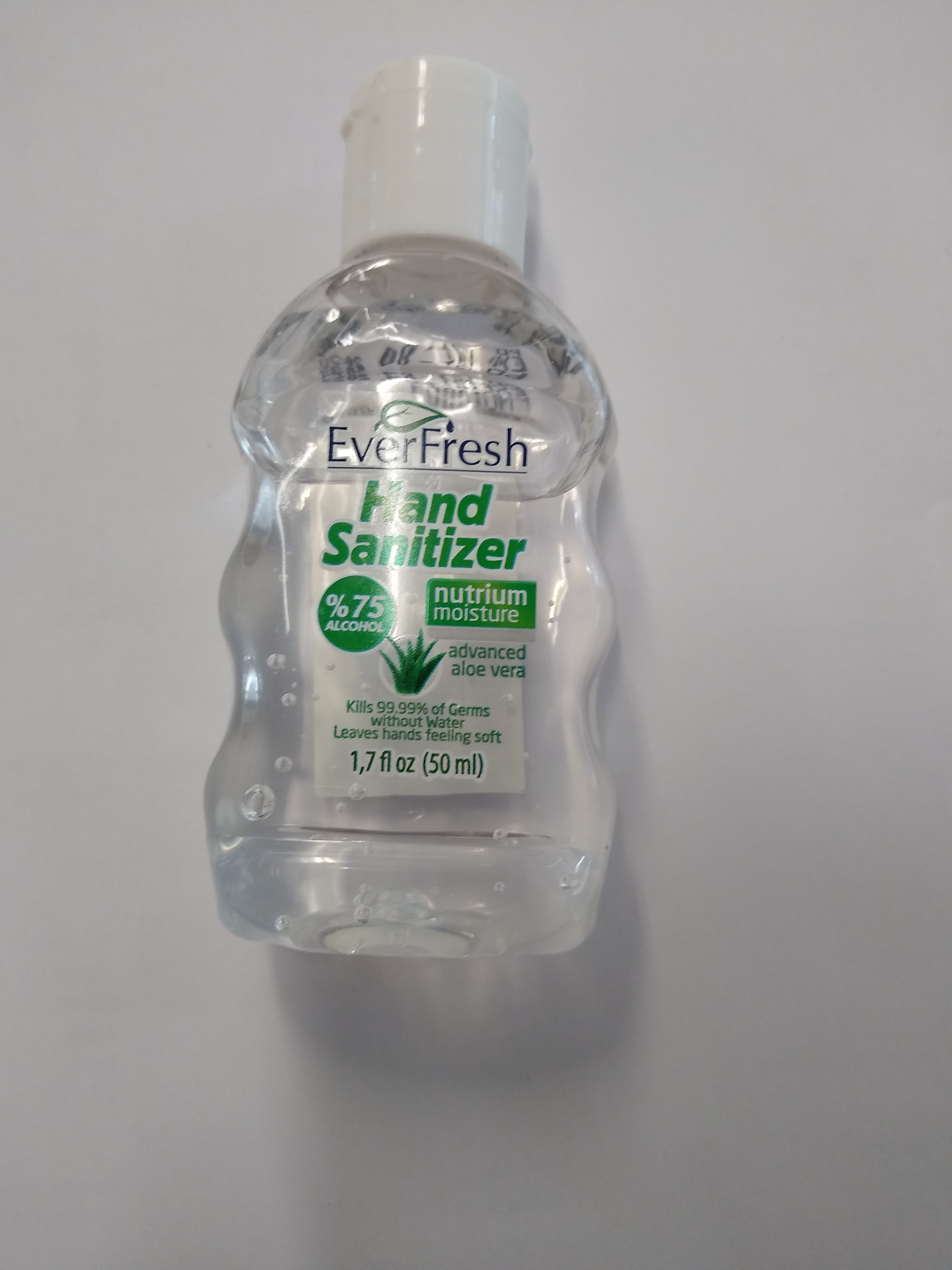 Ever Fresh Hand Sanitizer 75% Alcohol 50ml