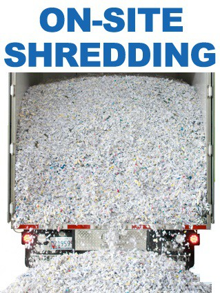 Onsite Shredding Minimum 15 bags - extra bags will be invoices once job is complete.