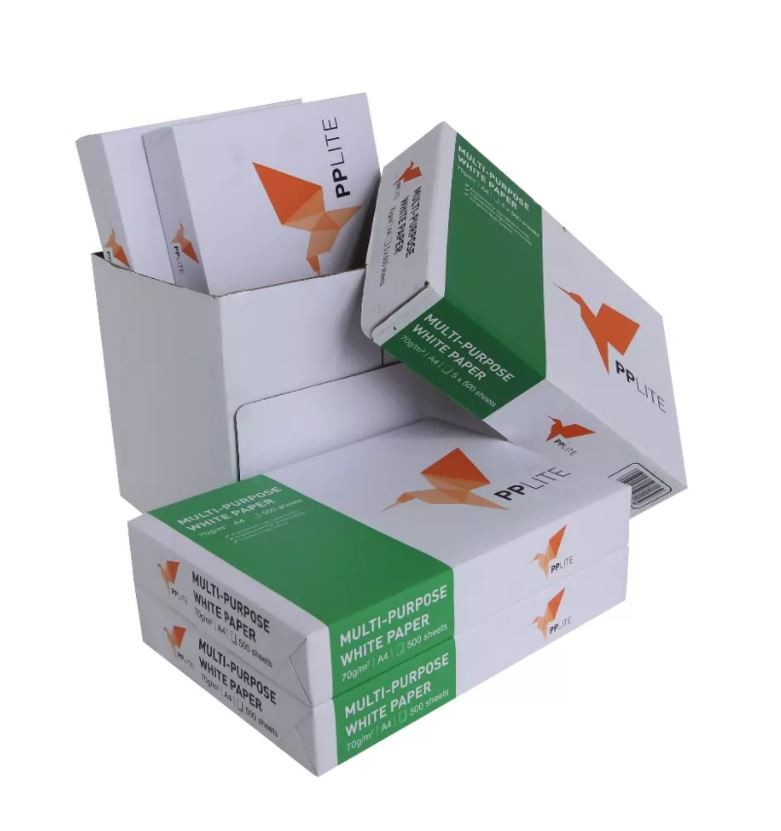 PP Lite Copier Paper White 210X297mm A4 (5 x Reams)