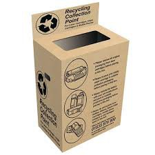 Collect toners for recycling pack 1 box Toners only please, no packaging.  Thank you.