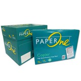 Paper One Copier (Greenpack) 75gsm White 210x297mm A4 (5 x Reams)