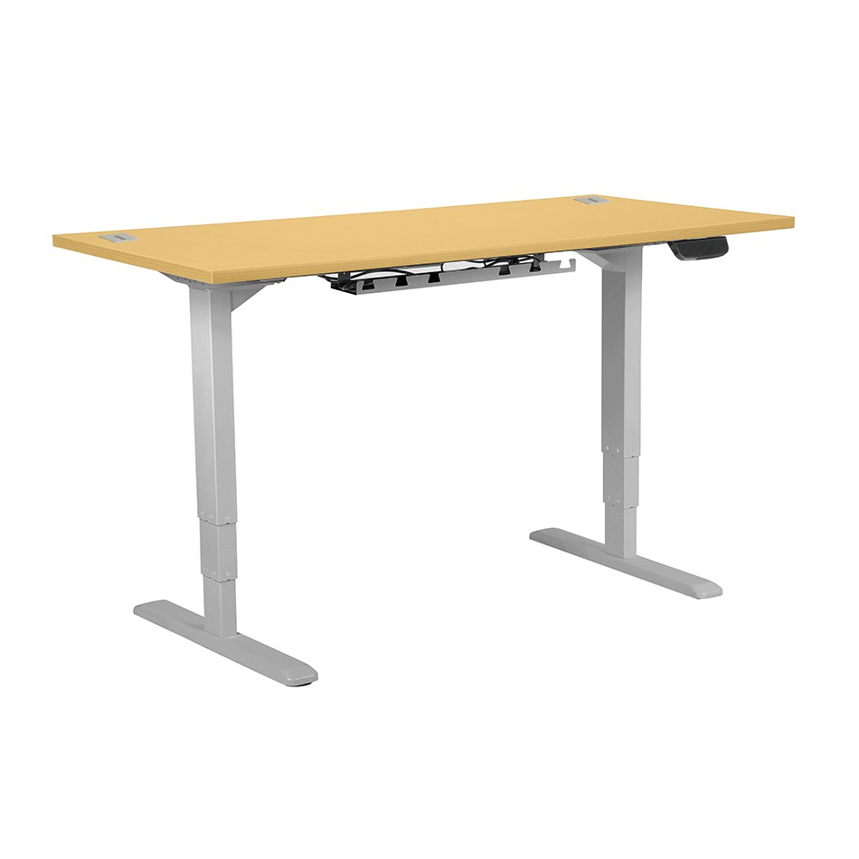 Active Sit/Stand Height Adjustable Desk 1400 Beech