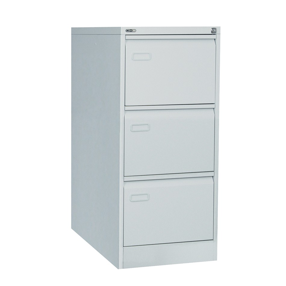 Mainline Filing Cabinet 3 Drawer Grey
