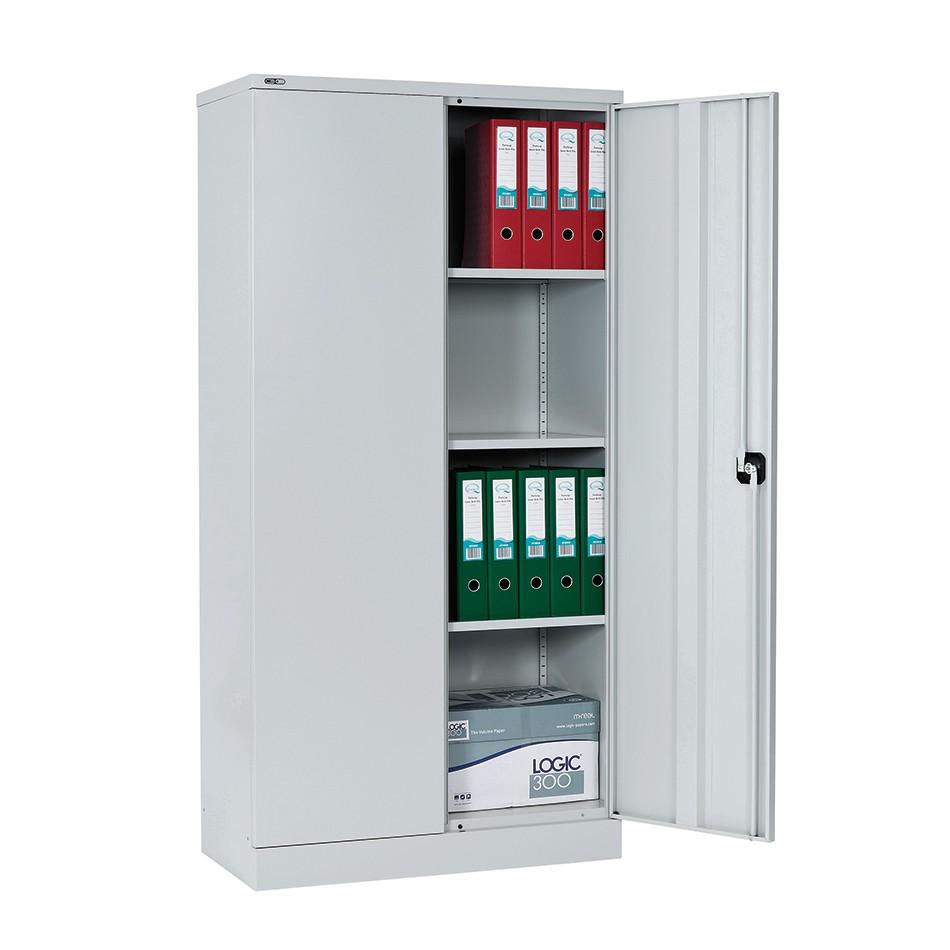 Double Door Cupboard Grey