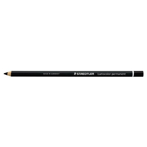 Glasochrom Pencil Black Pk12
