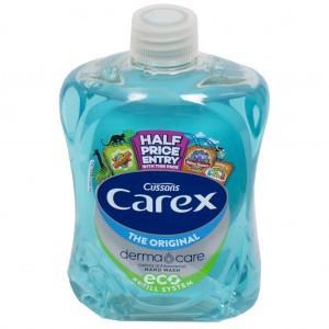 Carex Antibacterial Handwash/Soap 500ml Refill with Screw Top