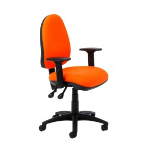 Image for SCT 506 Operator Chair Adjustable arms Category 1 Fabric