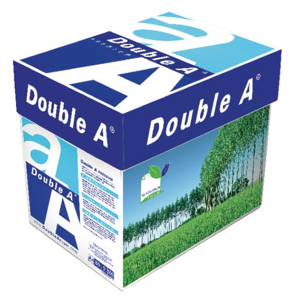 Double A Presentation A4 100gsm Packed 2500 5x500