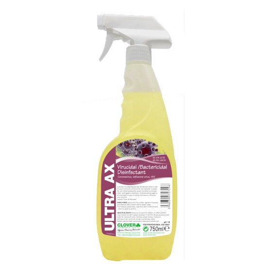 ULTRA AX VIRACIDAL SURFACE CLEANER TRIGGERS