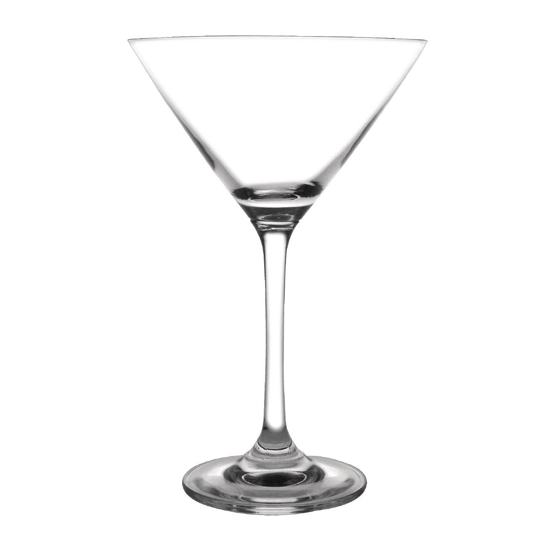 Olympia Bar Collection Crystal Martini Glasses 275ml