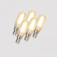 Image for E14 LED FILAMENT TUBE T24 3.5W 310LM PK10 02022