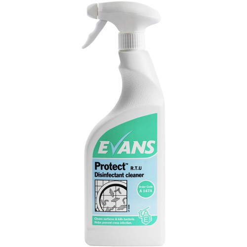 Evans Protect R.T.U Disinfectant Cleaner Spray 750ml