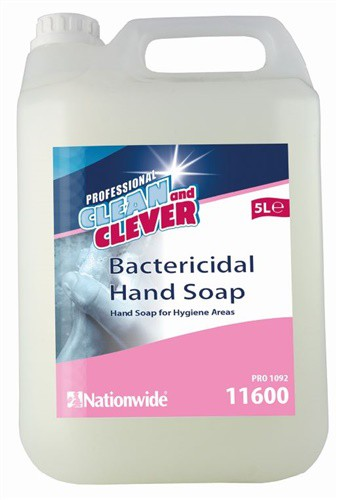 Professional Clean and Clever Bactericidal Hand Soap 5 Litre