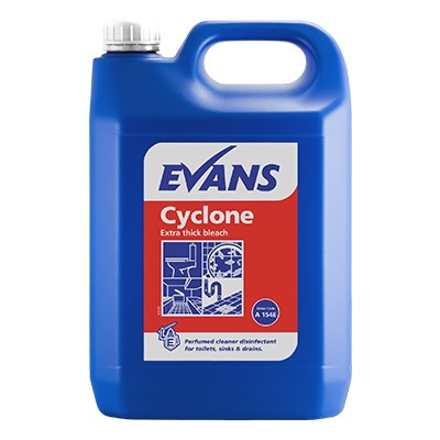 Evans Cyclone Extra Thick Bleach 5 Litre
