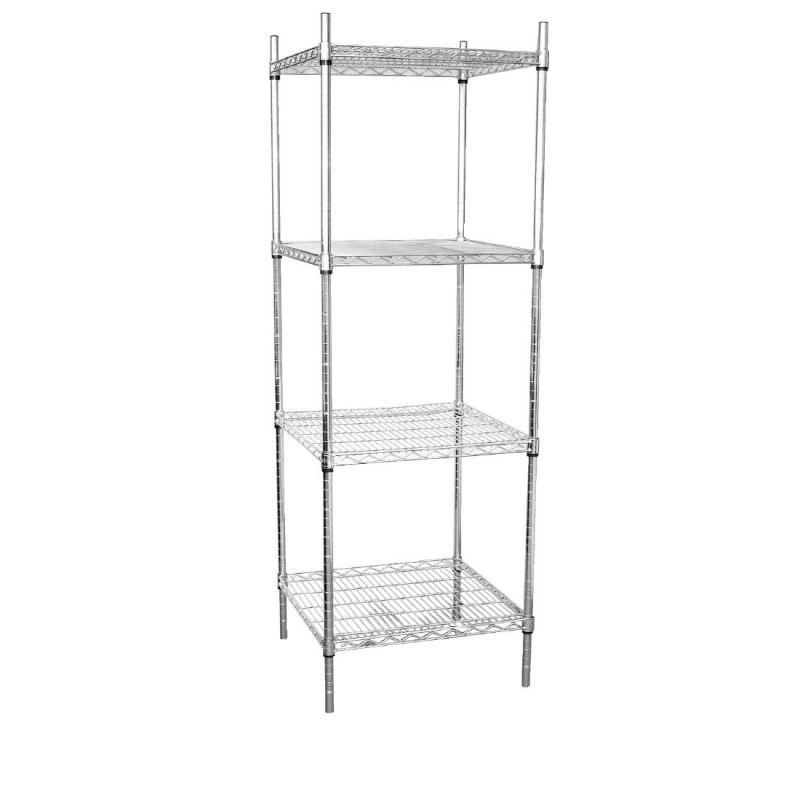 Vogue Tower Display Unit 4 Shelves - 1830(H)x610(W)x610(D)mm
