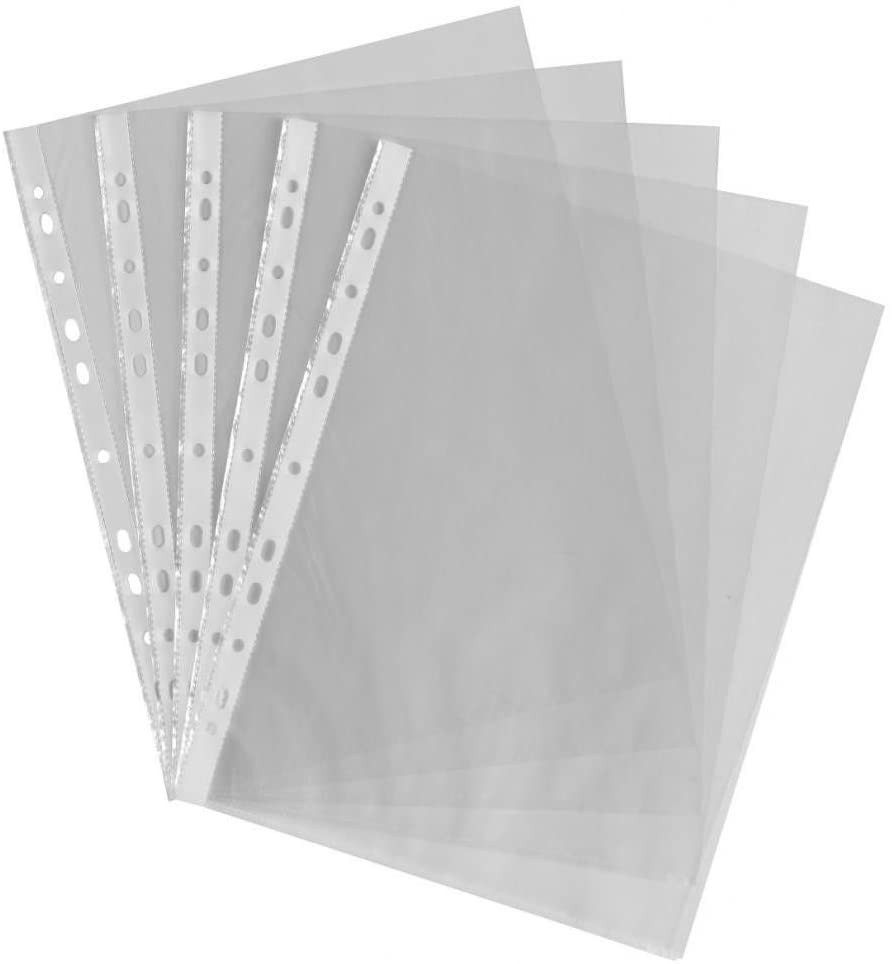 Paperstation A4 Punched Pockets Pack 100