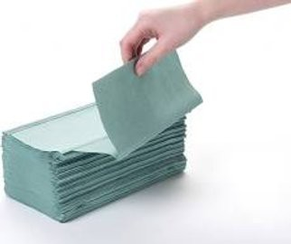 Paperstation Interfold Hand Towel 1 Ply Green Box 5000