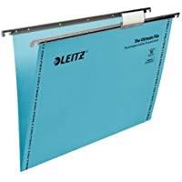 Leitz Ultimate Blue Suspension Files V Bottom F/CAP Box 50